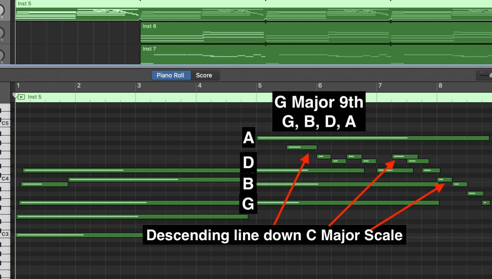 G Major 9th - Aesthetic Music Tutorial