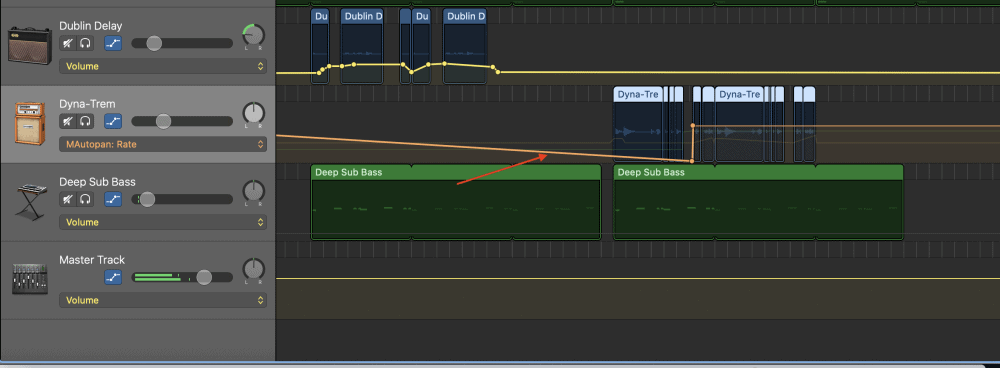 More Automation on Guitars - How to Make an Aesthetic Track in Garageband