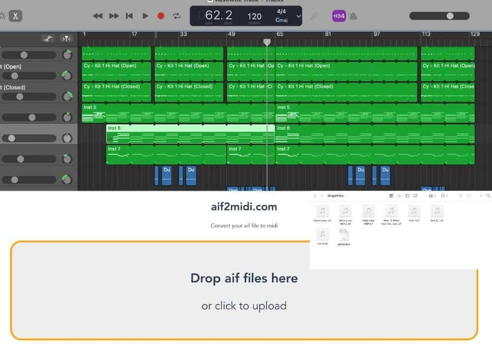 How to Export MIDI out of Garageband