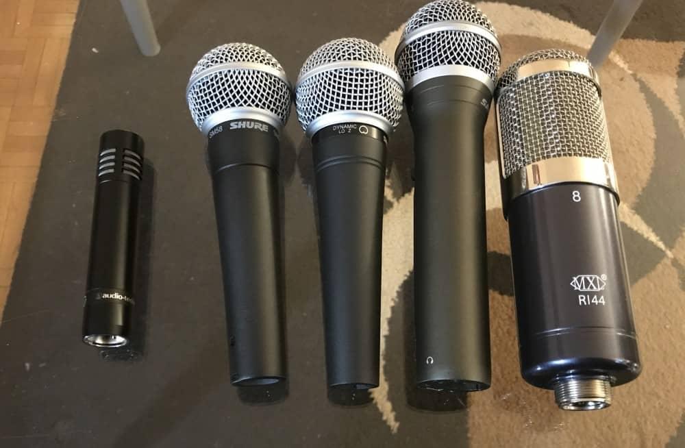 Audio Technica AT2021 Comparison Image