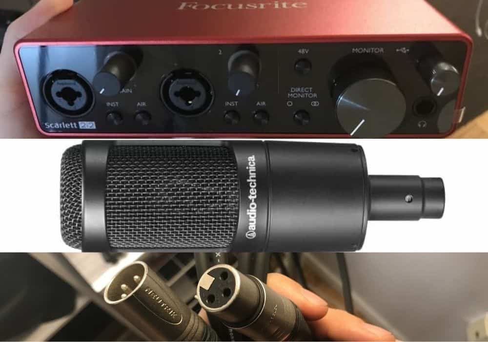 How to Connect a Condenser Mic to a Computer?