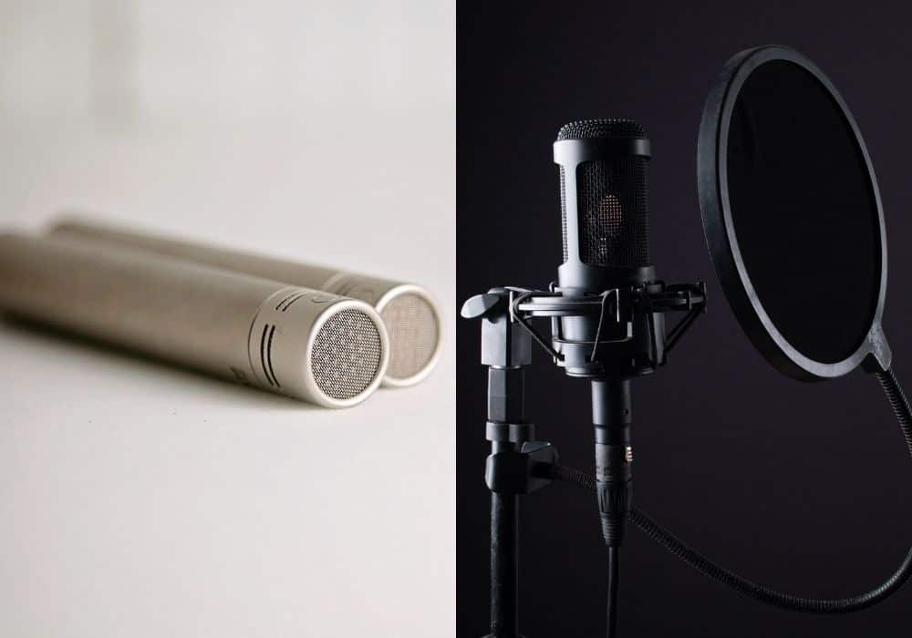 Small and Large Condenser Mic