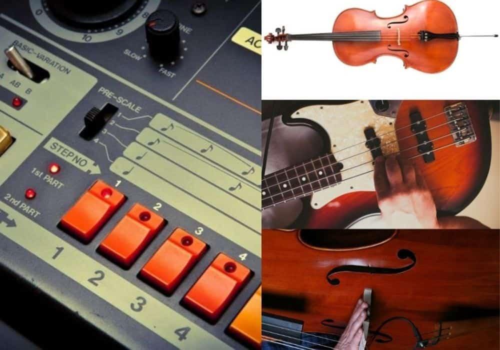 808s versus Bass Instruments