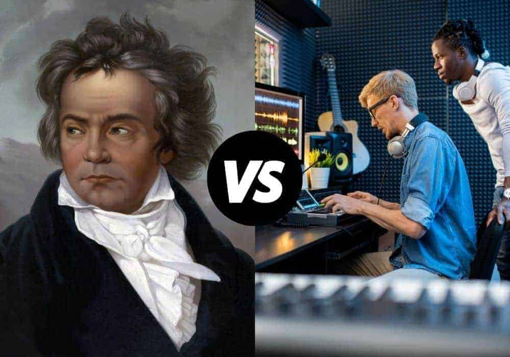 Beethoven and Music Producers Background