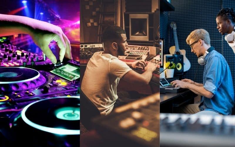DJ, Audio Engineer, and Music Producer