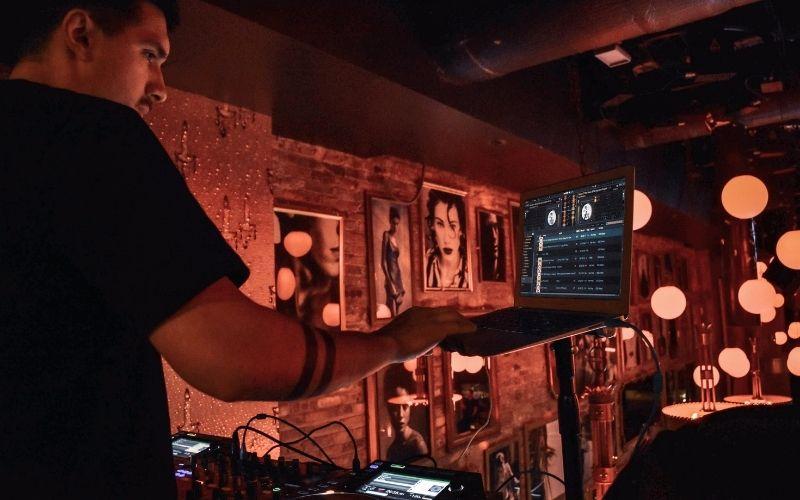 DJ in a Bar