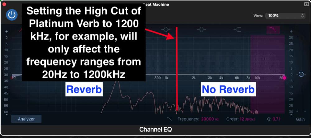 High Cut Platinum Verb EQ