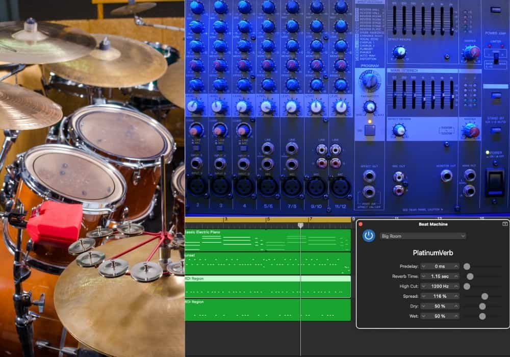 How to Add Reverb to Drums in Garageband - Main Image