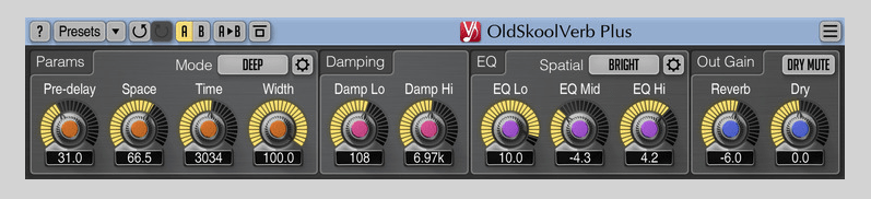 OldSkoolVerb Plus from Plugin Boutique