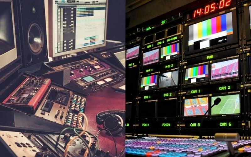 Mixing and Broadcasting