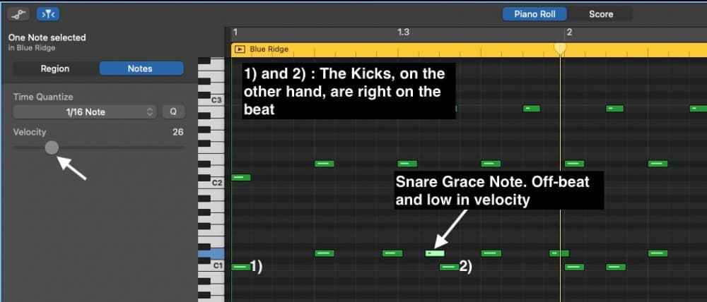 Grace Notes - How to Create Drums in Garageband