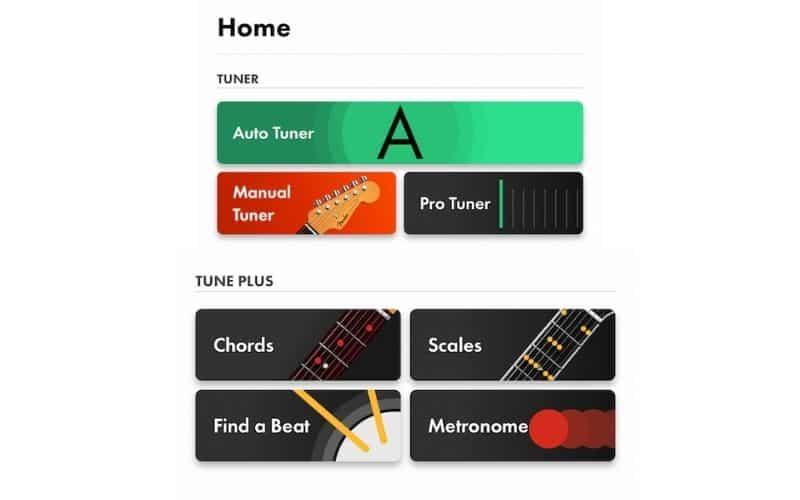 Picture of Fender Tune App
