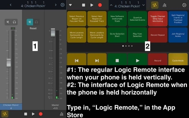 Logic Remote Interface