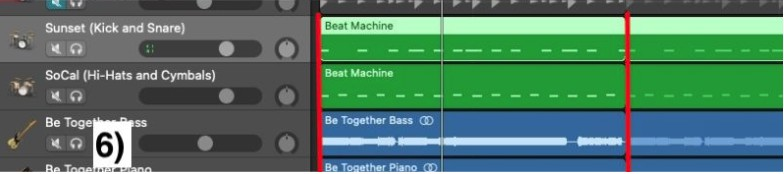 Match the Number of Drummer Track Bars with the Other Instruments