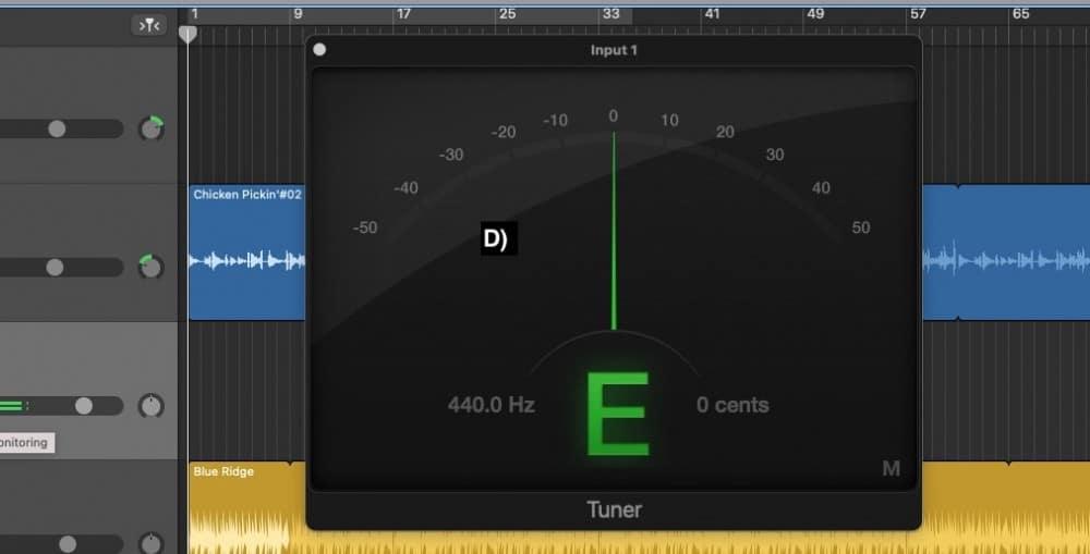 Tuned perfectly at E
