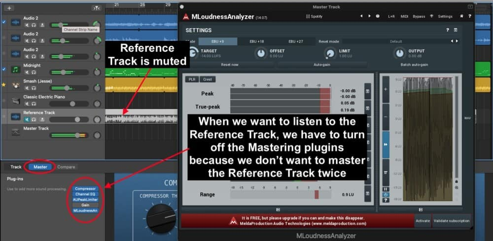 Master Channel Plugins - How To Use Reference Tracks When Mixing
