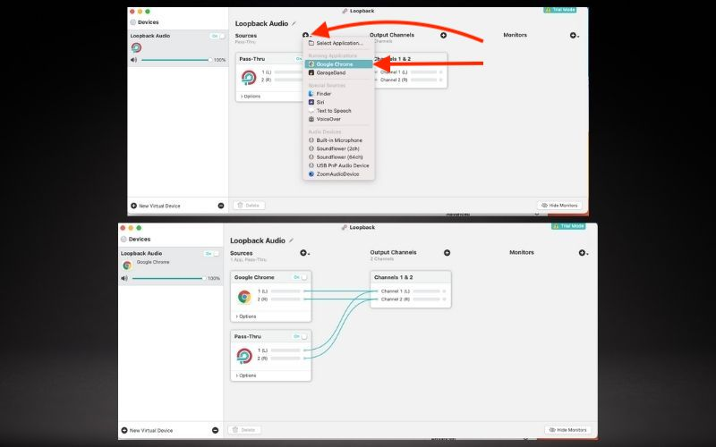 Set Up Loopback Audio's Preferences - How To Use Reference Tracks
