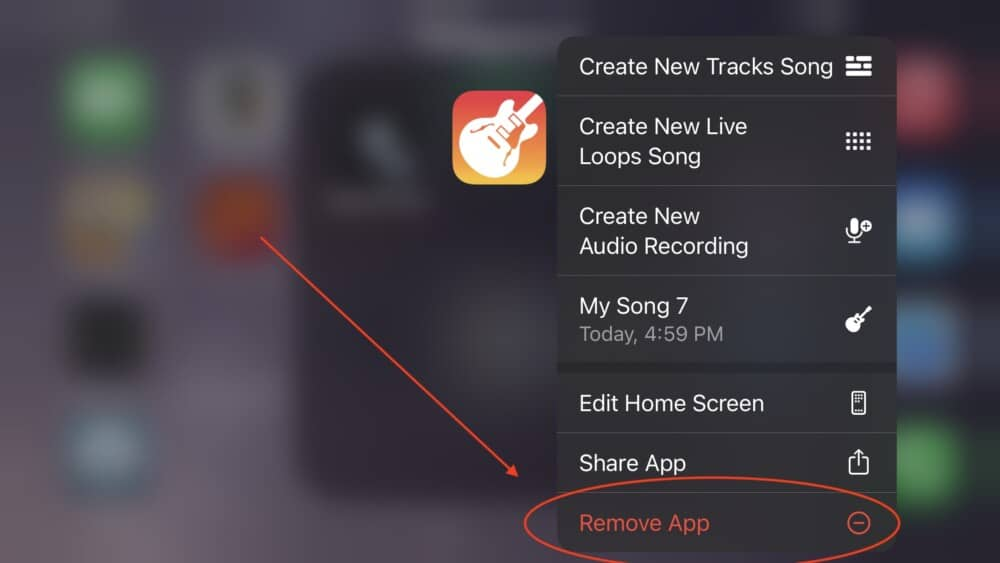 Remove App - Is It Safe To Delete Garageband From My iPhone