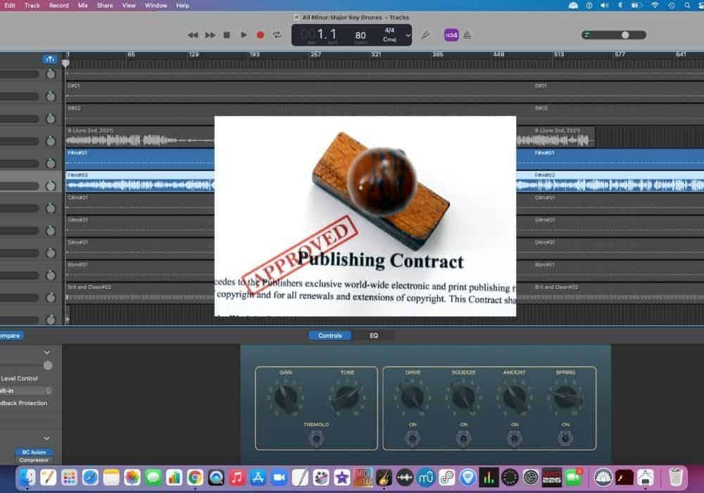 Can You Publish Songs Made in Garageband