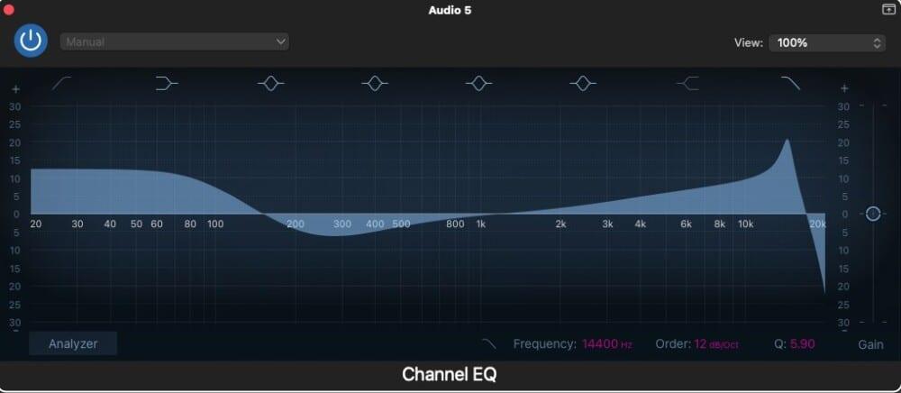 EQ Settings 1 - How to Use Auto-Tune in Garageband