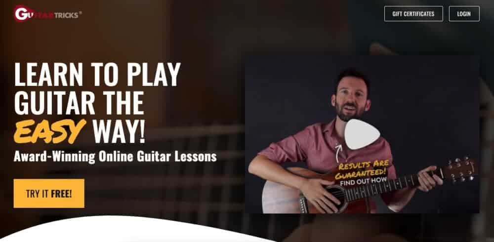 Guitar Tricks -  Recommended Products Page
