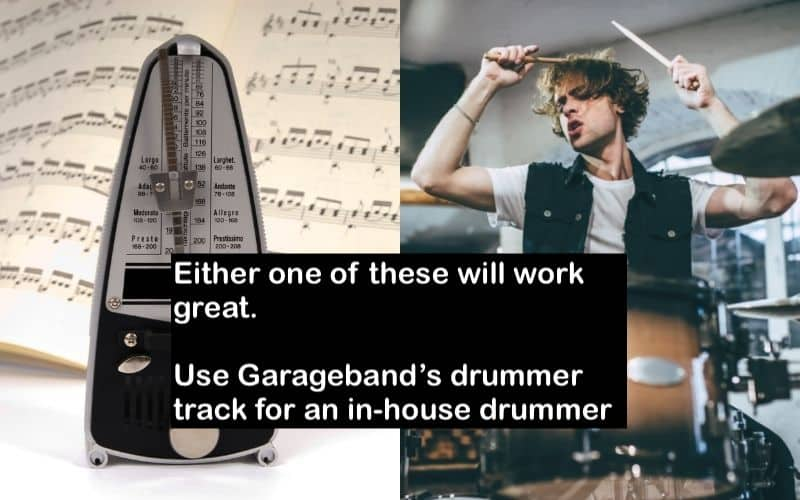 Metronome and Drumming - Songwriting Tips for Beginners