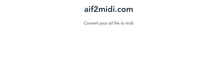 Aif2Midi - How Good is Garageband for Making Music