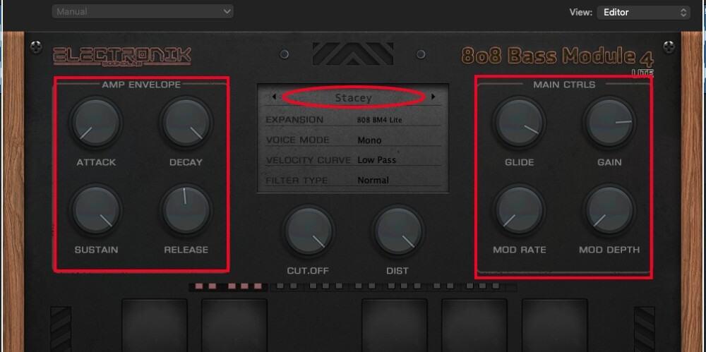 808 Bass Module 4 - Best Plugins for Garageband
