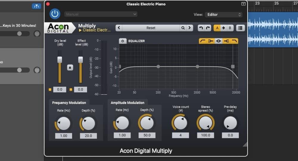 Acon Digital Multiply - Best Free Garageband Plugins