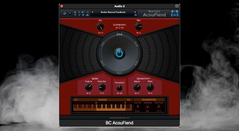 Blue Cat Audio AcouFiend - Best Plugins for Garageband