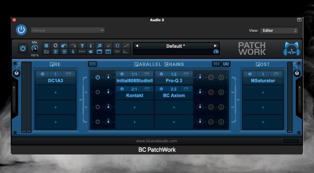 Blue Cat Audio's Patch Work - Best Plugins for Garageband