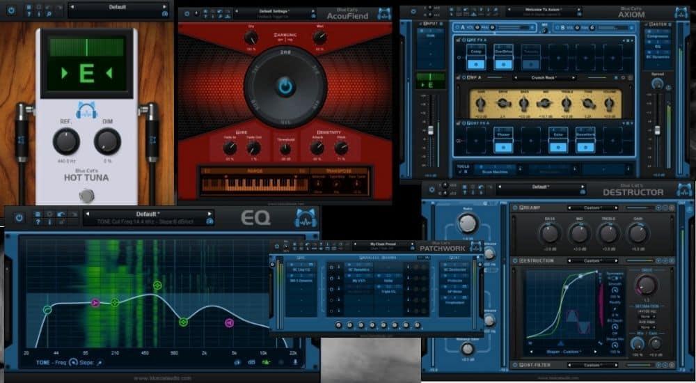 Blue Cat Audio's Axe Pack - Best Plugins for Garageband