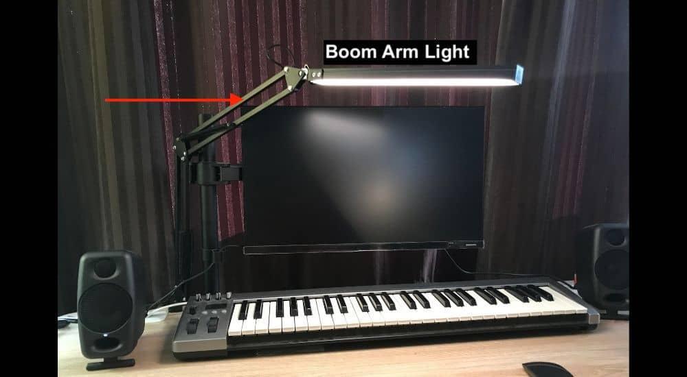 Boom Arm Light - How to Make Guitar Videos for TikTok
