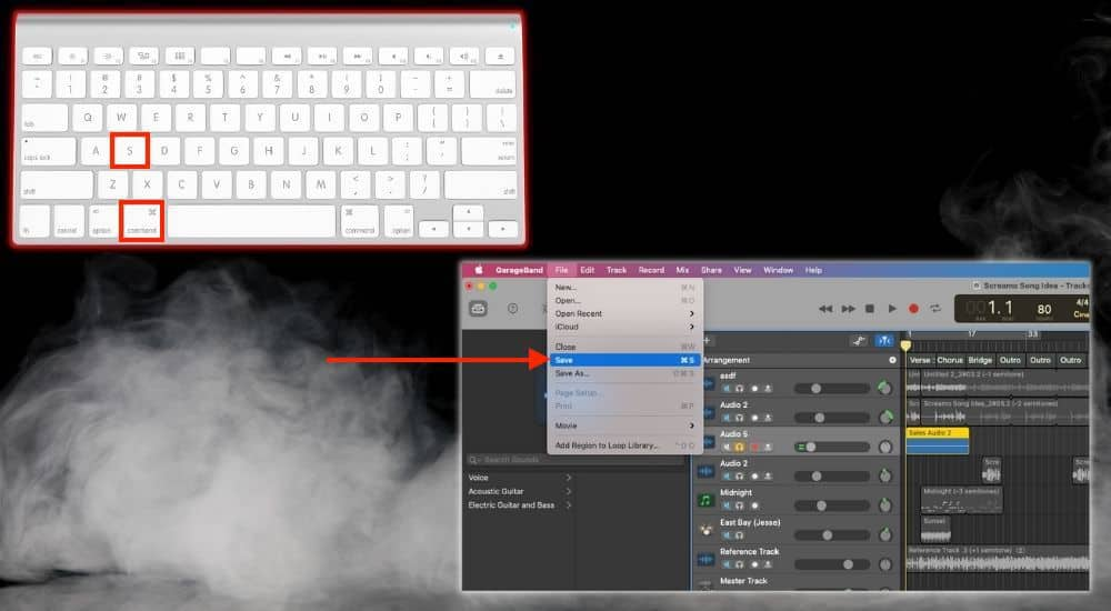 Command + S - Keyboard Shortcuts Article