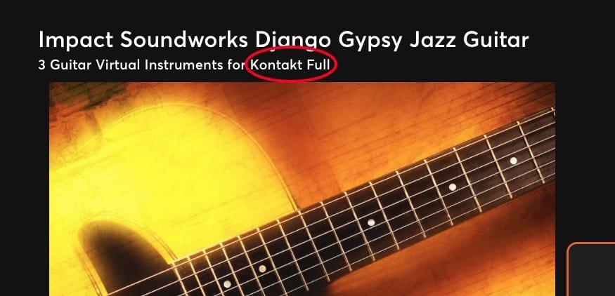 Django Soundworks Kontakt Full - Best Plugins for Garageband