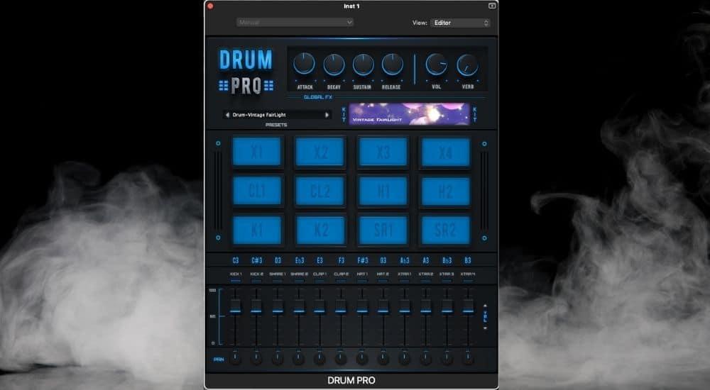 Drum Pro - Best Plugins for Garageband