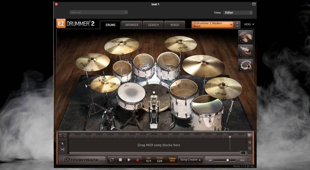 EZ Drummer - Best Plugins for Garageband - 2
