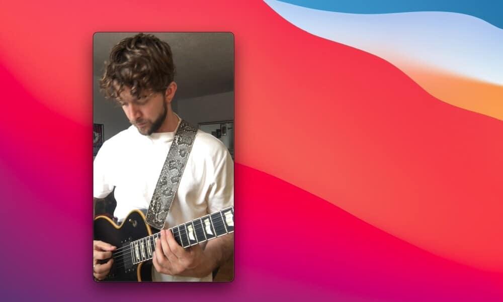 Me - How to Make Guitar Videos for TikTok