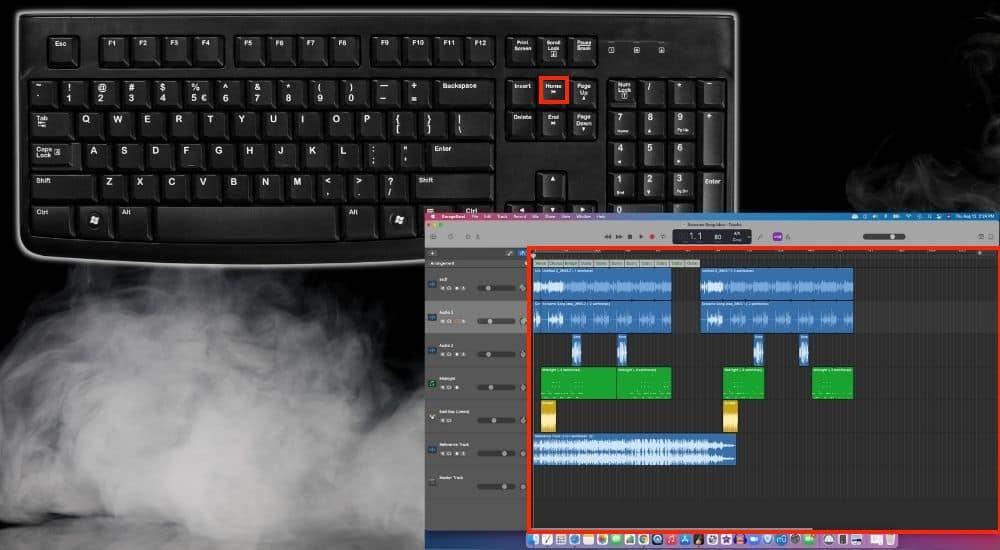 Home Scroll Backward - Keyboard Shortcuts