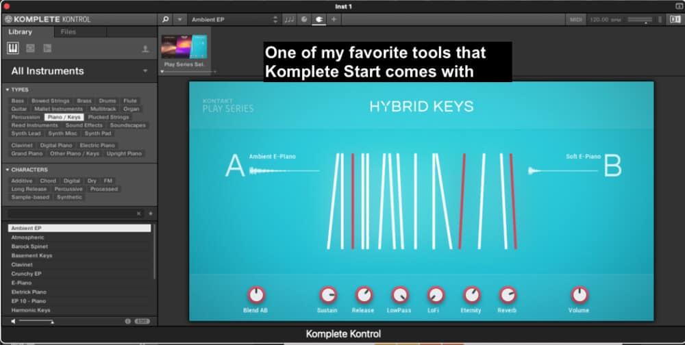 Hybrid Keys - Best Plugins for Garageband