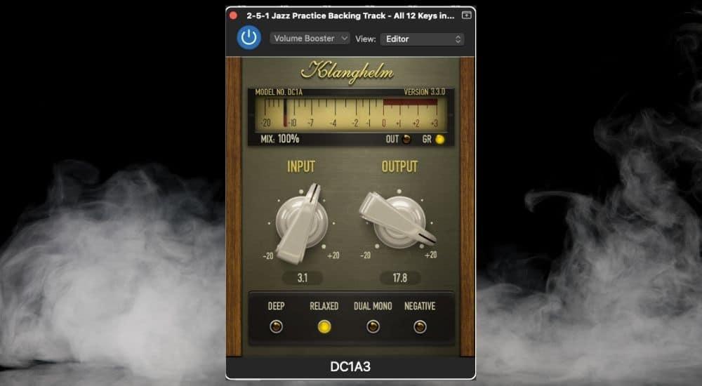 Klanghelm DC1A - Best Plugins for Garageband