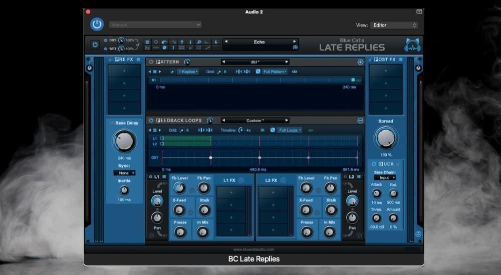 Blue Cat Audio's Late Replies - Best Plugins for Garageband
