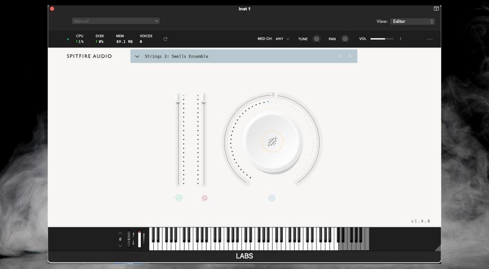 Spitfire Audio Lab - Best Plugins for Garageband