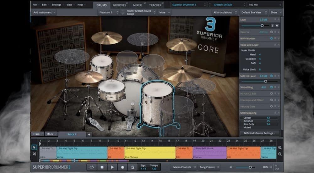 Superior Drummer - Best Plugins for Garageband