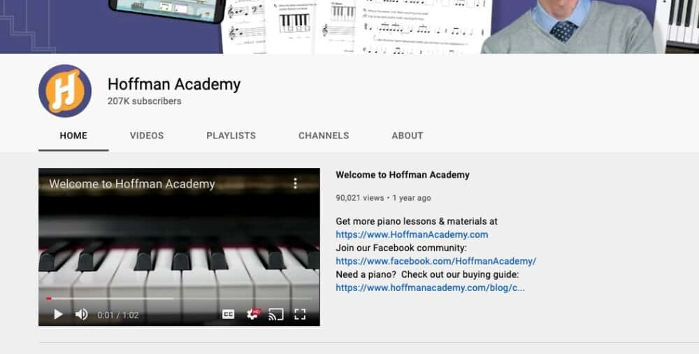 Hoffman Academy - Why Learning Piano Isn't Hard to Learn By Yourself