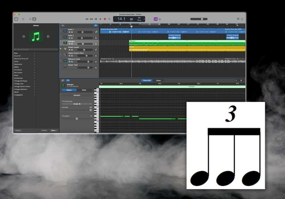 How to Do Triplets in Garageband iOS - Featured Image