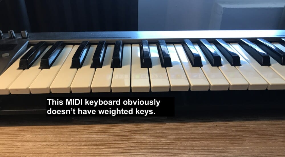 Non Weighted Keys - Are Keyboards As Good As Piano