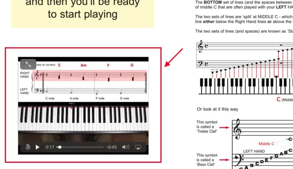 PianoForAll Example - Why Piano Isn't Hard To Learn By Yourself
