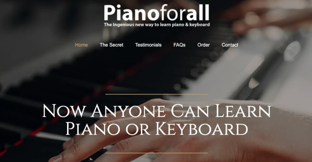 PianoForAll - How to Learn Piano or Keyboard