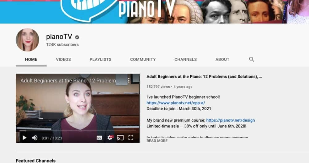PianoTV - Why Learning Piano By Yourself Isn't Hard